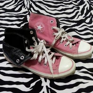 Converse Shoes - TwoFold high top Converse